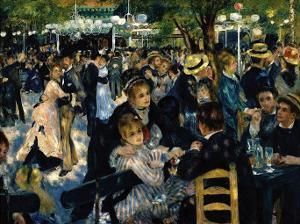 Le Moulin de la Galette c.1876 by Pierre-Auguste Renoir