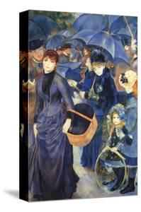 Les Para Pluies by Pierre-Auguste Renoir