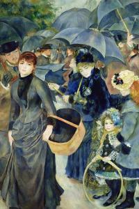 Les Parapluies, 1886 by Pierre-Auguste Renoir