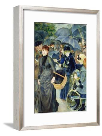 Les Parapluies, 1886