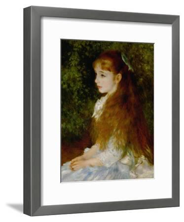 Little Irene, Portrait of the 8 Year-Old Daughter of the Banker Cahen D'Anvers, 1880