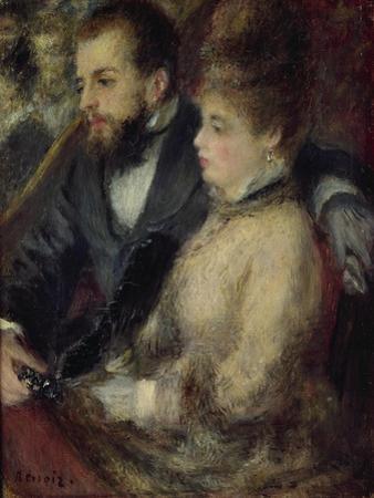 Loge, 1873 by Pierre-Auguste Renoir