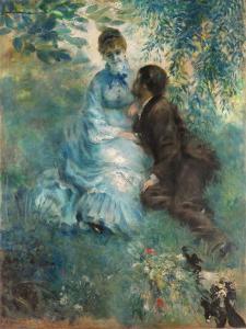 Lovers by Pierre-Auguste Renoir