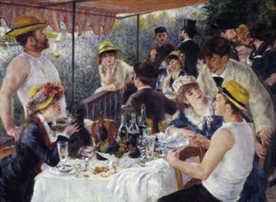Luncheon of the Boating Party, 1880-81 by Pierre-Auguste Renoir
