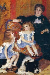Madame Charpentier and Her Children by Pierre-Auguste Renoir