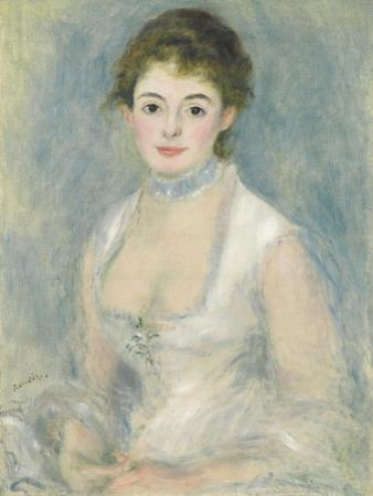 Madame Henriot, C.1876 by Pierre-Auguste Renoir