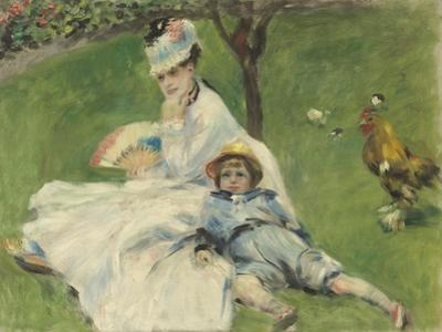 Madame Monet and Her Son, 1874