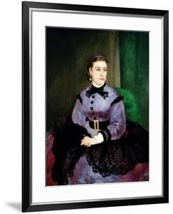 Mademoiselle Sicot, 1865 by Pierre-Auguste Renoir