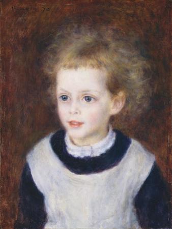 Marguerite-Thérèse (Margot) Berard, 1879 by Pierre-Auguste Renoir