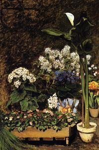Mixed Spring Flowers by Pierre-Auguste Renoir