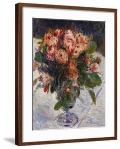Moss Roses, circa 1890 by Pierre-Auguste Renoir