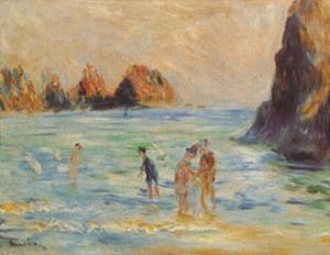 Moulin Huet Bay by Pierre-Auguste Renoir
