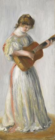 Music, 1895 by Pierre-Auguste Renoir