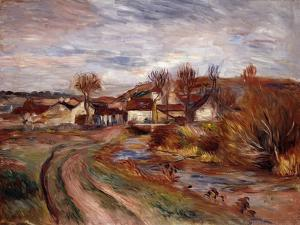 Normandy Countryside by Pierre-Auguste Renoir