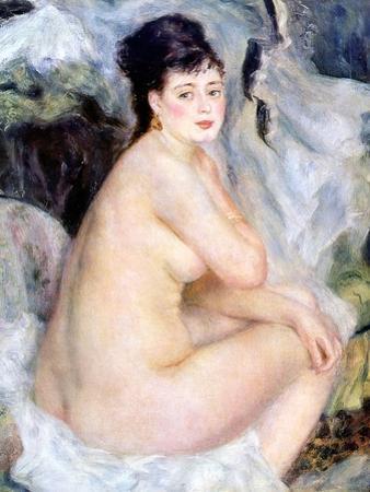 Nude, 1876 by Pierre-Auguste Renoir