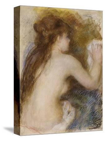 Nude Back of a Woman, circa 1879
