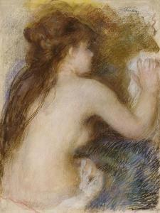 Nude Back of a Woman, circa 1879 by Pierre-Auguste Renoir