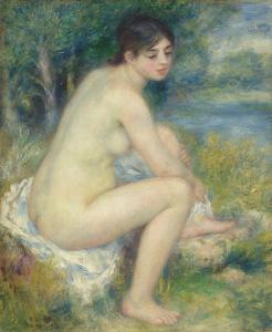 Nude in a Landscape, 1883 by Pierre-Auguste Renoir