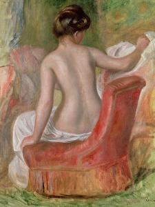 Nude in an Armchair, 1900 by Pierre-Auguste Renoir