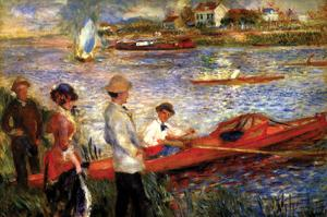 Oarsman of Chatou by Pierre-Auguste Renoir