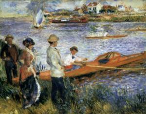 Oarsmen at Chatou by Pierre-Auguste Renoir