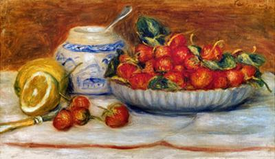 P.A. Renoir: Strawberries by Pierre-Auguste Renoir