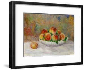 Peaches by Pierre-Auguste Renoir