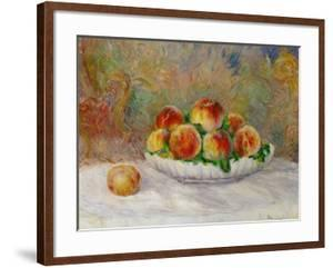 Peaches by Pierre-Auguste Renoir