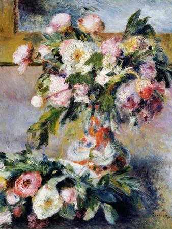 Peonies, 1878 by Pierre-Auguste Renoir