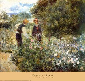 Picking Flowers by Pierre-Auguste Renoir