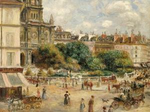Place De La Trinite by Pierre-Auguste Renoir