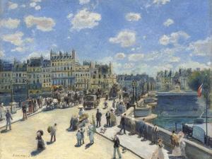 Pont Neuf, Paris, 1872 by Pierre-Auguste Renoir