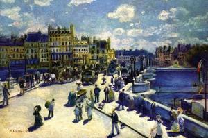 Pont-Neuf by Pierre-Auguste Renoir