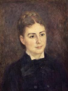 Portrait de madame Paul Bérard by Pierre-Auguste Renoir