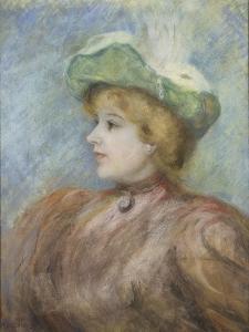 Portrait de Mademoiselle Dieterle by Pierre-Auguste Renoir