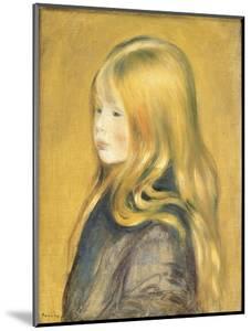 Portrait of Edmond Renoir, Jr., 1888 by Pierre Auguste Renoir