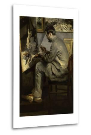 Portrait of Frederic Bazille Painting 'The Heron in Flight,' 1867