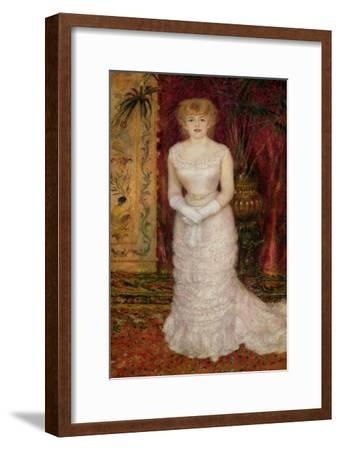 Portrait of Jeanne Samary (1857-90) 1878