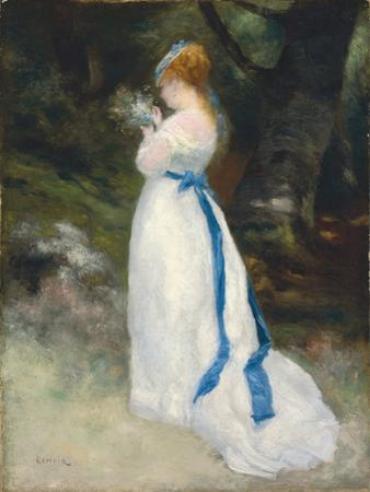 Portrait of Lise, 1867 by Pierre-Auguste Renoir