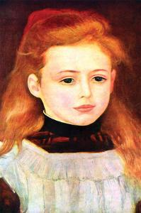 Portrait of Lucie Bernard by Pierre-Auguste Renoir