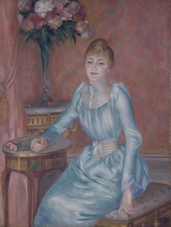 Portrait of Madame De Bonnières (Henriette Arnaud-Gentil, Gräfin De Bonnière) by Pierre-Auguste Renoir