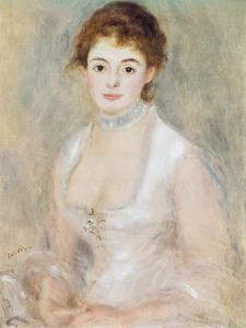 Portrait of Madame Heriot by Pierre-Auguste Renoir