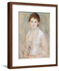 Portrait of Madame Heriot by Pierre-Auguste Renoir