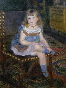 Portrait of Mlle, Georgette Charpentier, 1876 by Pierre-Auguste Renoir