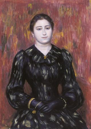 Portrait of Mme. Paulin, 1885-1890? by Pierre-Auguste Renoir