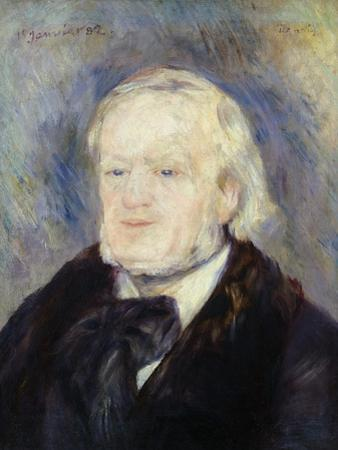 Portrait of Richard Wagner (1813-83) 1882 by Pierre-Auguste Renoir