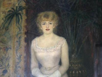 Portrait of the Actress Jeanne Samary, 1878 by Pierre-Auguste Renoir