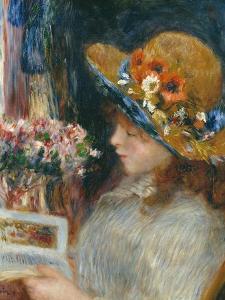 Reading Girl, 1886 by Pierre-Auguste Renoir