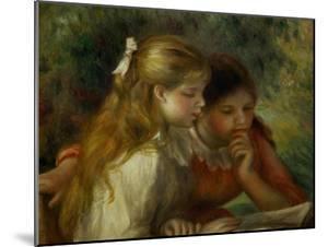 Reading (La Lecture), 1890-1895 by Pierre-Auguste Renoir