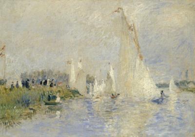 Regatta at Argenteuil, 1874 by Pierre-Auguste Renoir